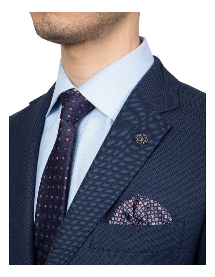Modern Fit Navy Morse Suit Jacket FMG101 image 4