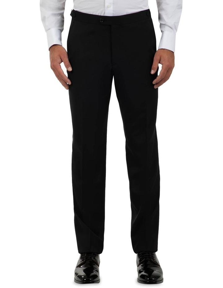 Modern Fit Maguire Black Evening Trouser FMG100 image 1