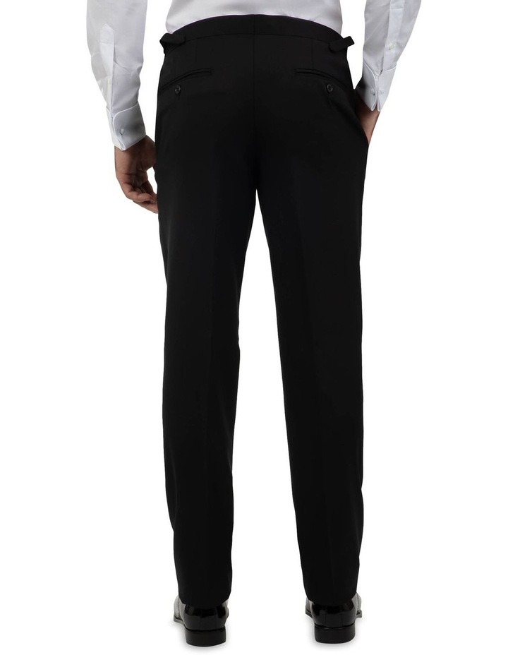 Modern Fit Maguire Black Evening Trouser FMG100 image 2