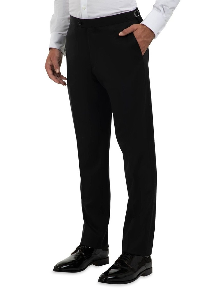 Modern Fit Maguire Black Evening Trouser FMG100 image 3