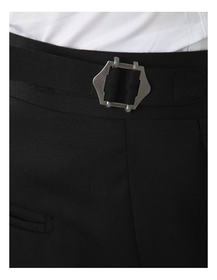 Modern Fit Maguire Black Evening Trouser FMG100 image 5