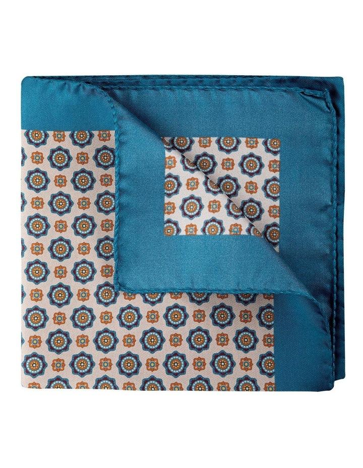 Foulard Silk Pocket Square-Stone image 2