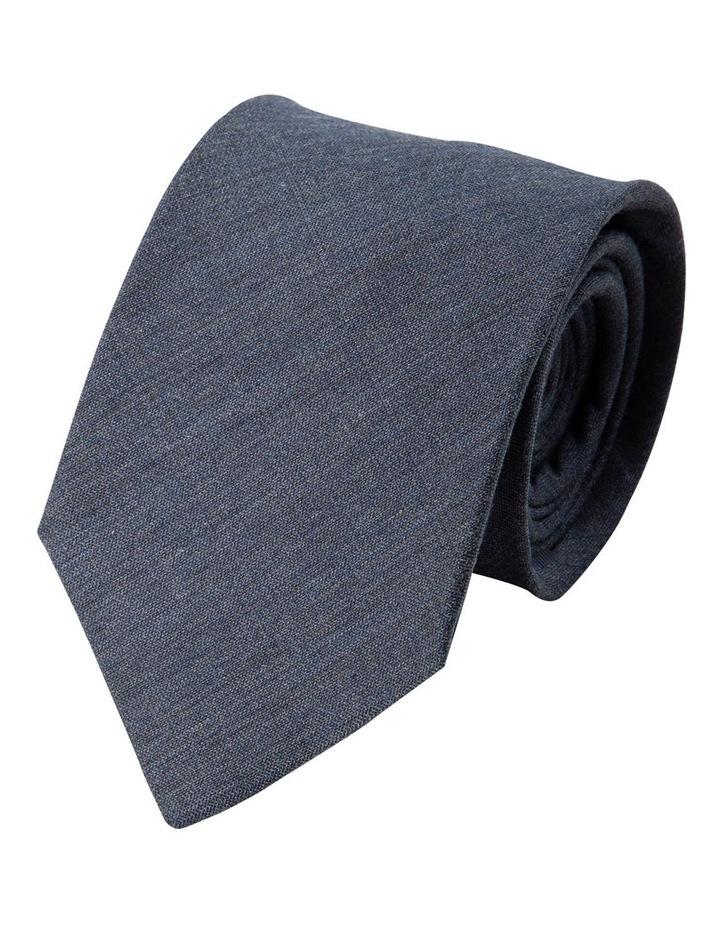Melange Silk/Cotton Tie-Denim image 1