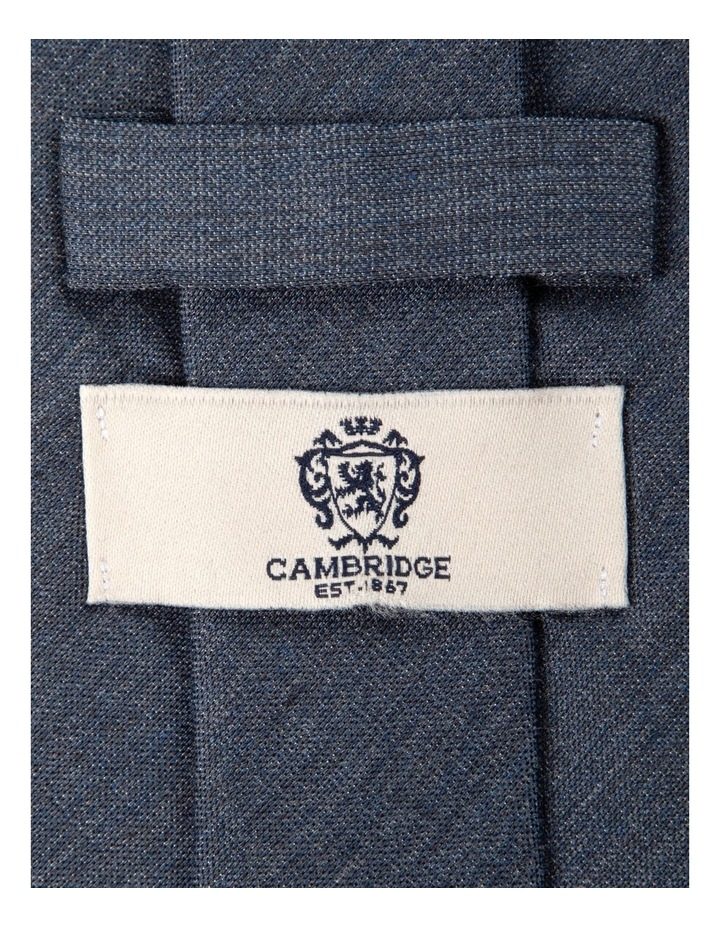 Melange Silk/Cotton Tie-Denim image 2