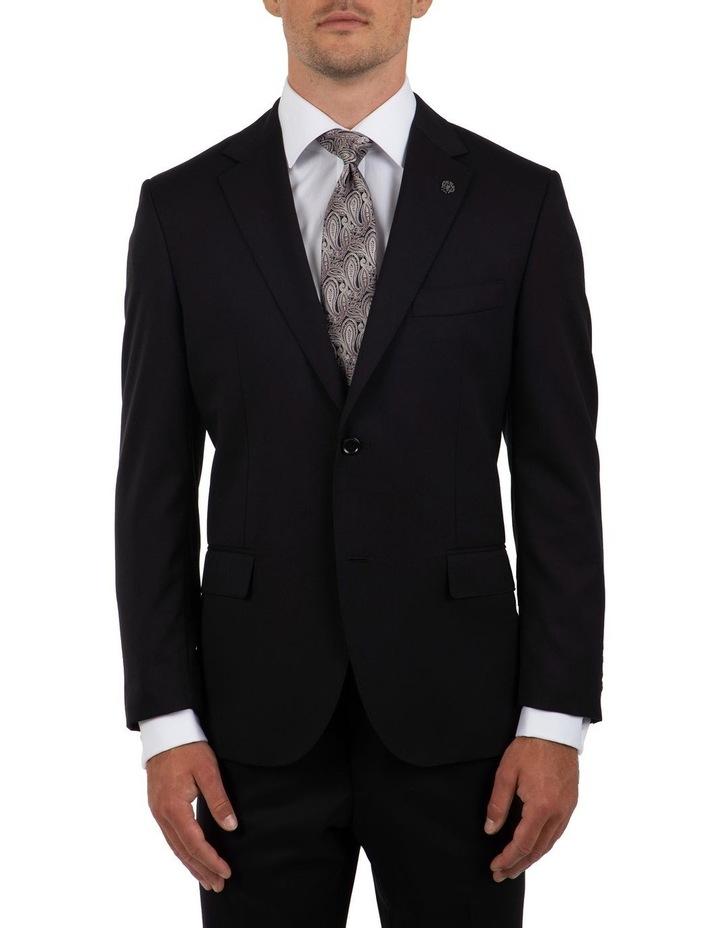 Modern Fit Morse Black Suit Jacket FMG100 image 1