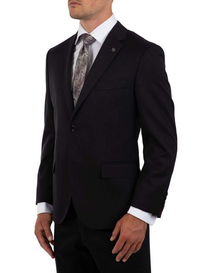 Modern Fit Morse Black Suit Jacket FMG100 image 3