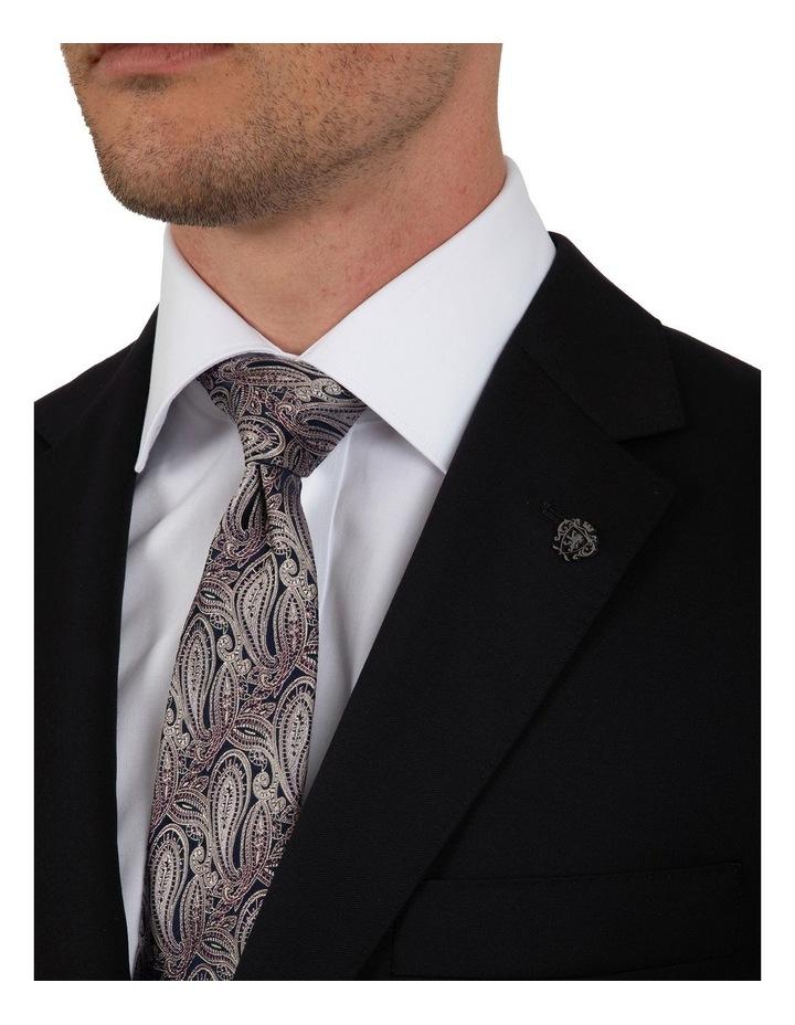 Modern Fit Morse Black Suit Jacket FMG100 image 4
