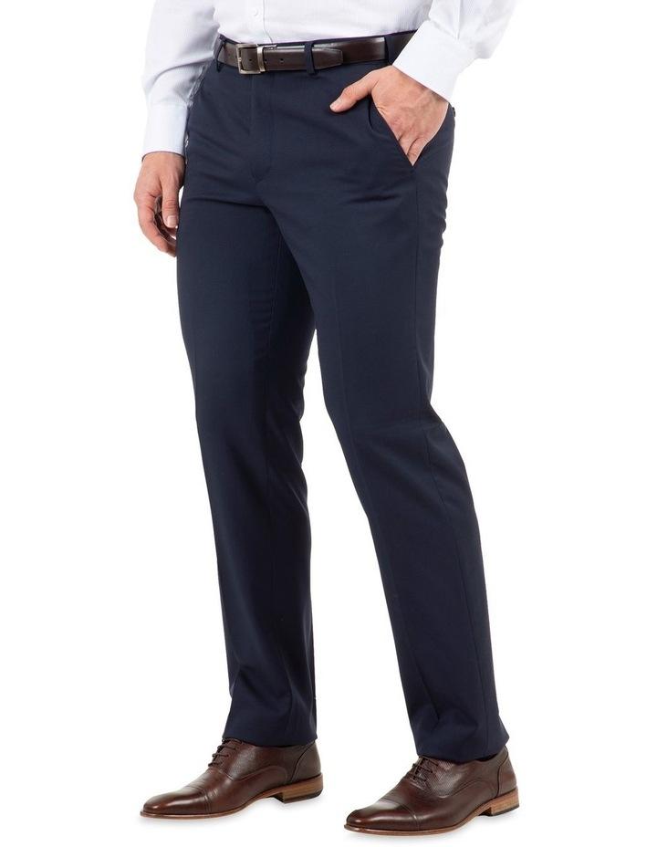 Modern Fit Interceptor Navy Suit Trouser FMG100 image 2