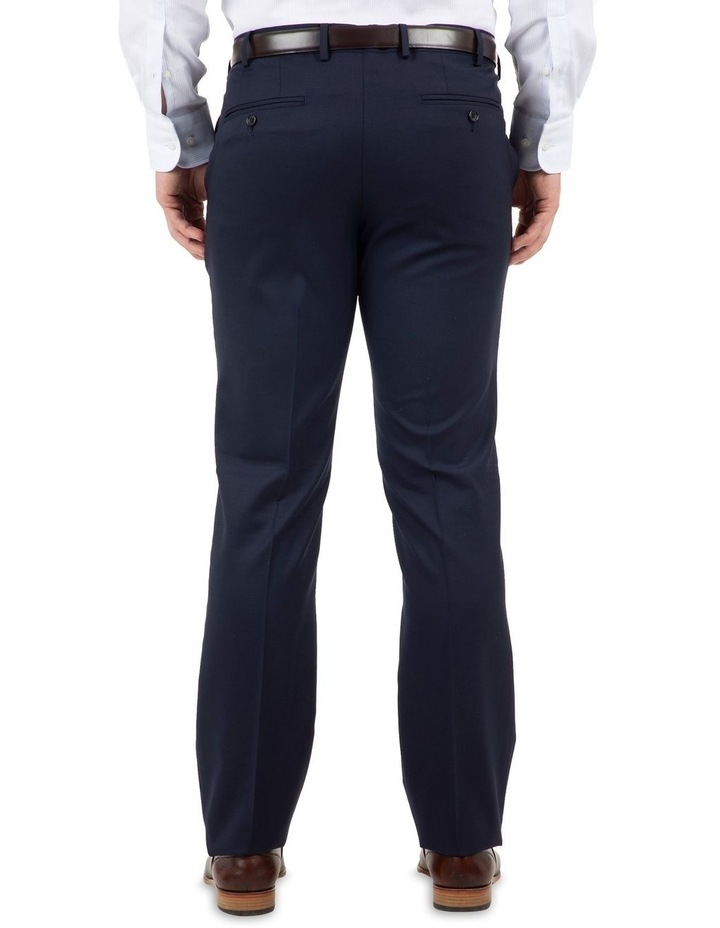 Modern Fit Interceptor Navy Suit Trouser FMG100 image 3