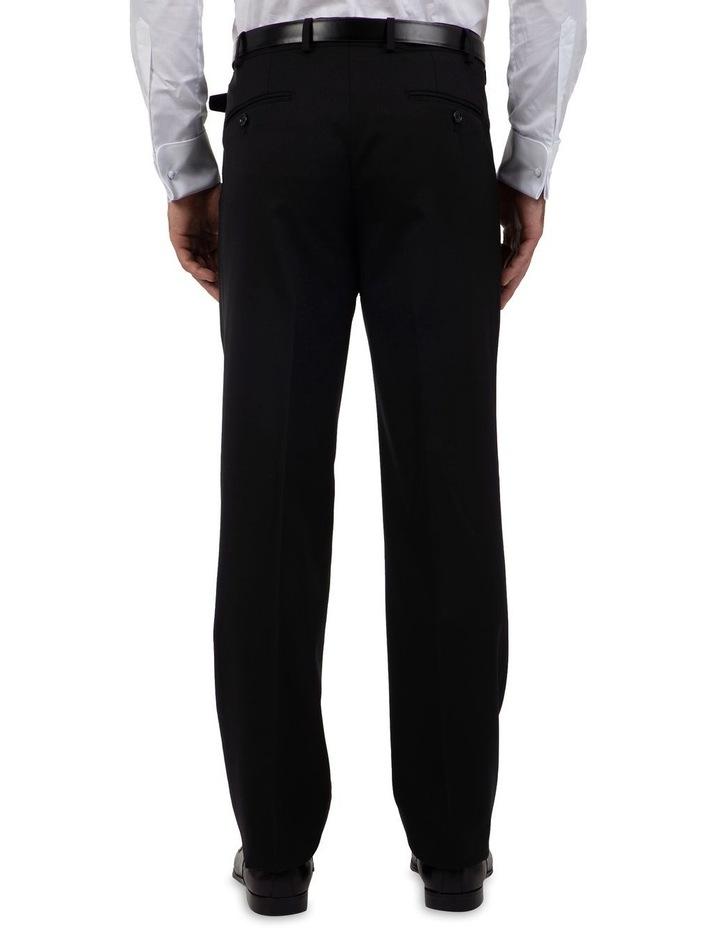 Modern Fit Interceptor Black Suit Trouser FMG100 image 2