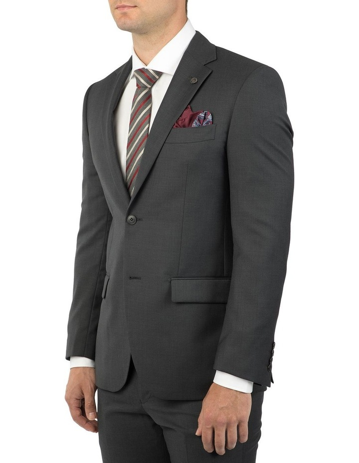 Modern Fit Hardwick Charcoal Jacket F2042 image 2
