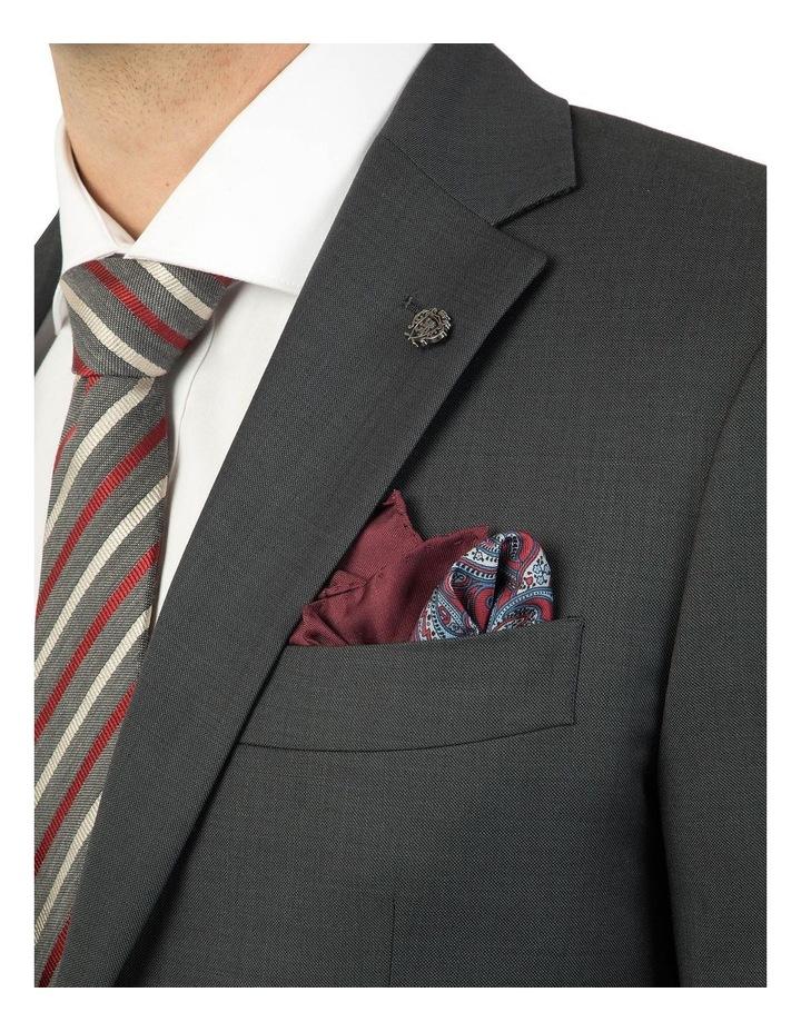 Modern Fit Hardwick Charcoal Jacket F2042 image 4