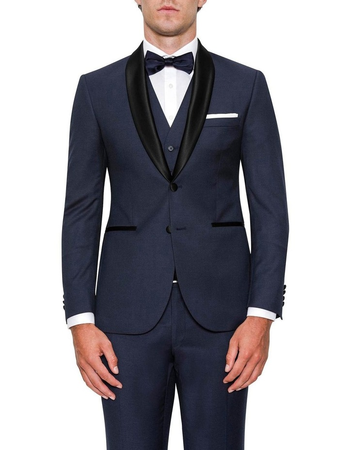 Modern Fit Andes Navy Shawl Lapel Dinner Jacket FYF001 image 1