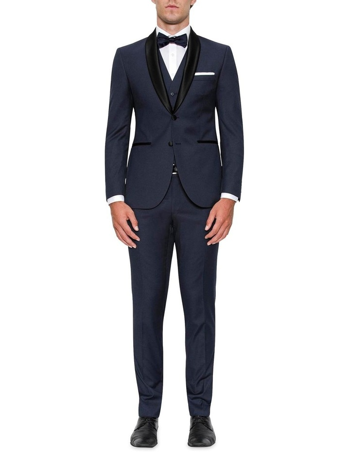 Modern Fit Andes Navy Shawl Lapel Dinner Jacket FYF001 image 2