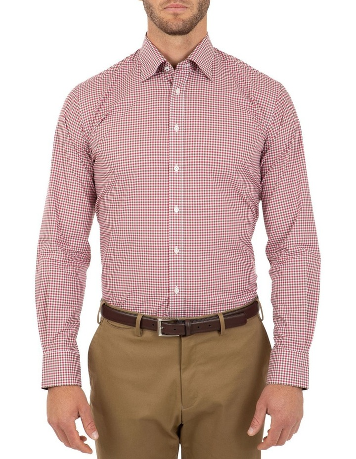 Modern Fit Pink Check Brighton Business Shirt FCL230 image 1