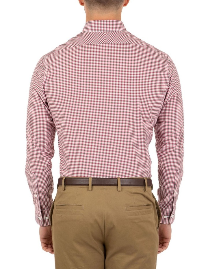 Modern Fit Pink Check Brighton Business Shirt FCL230 image 2