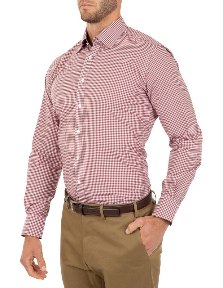 Modern Fit Pink Check Brighton Business Shirt FCL230 image 3