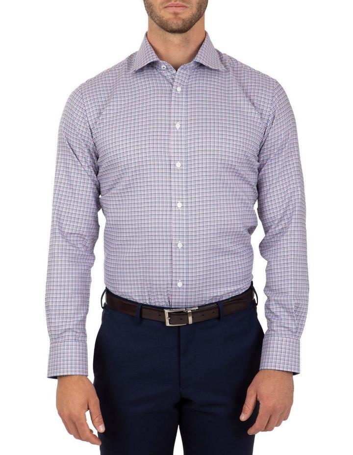 Modern Fit Pink Check Carlton Business Shirt FCL233 image 1