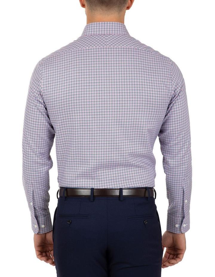 Modern Fit Pink Check Carlton Business Shirt FCL233 image 2
