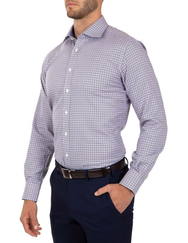 Modern Fit Pink Check Carlton Business Shirt FCL233 image 3