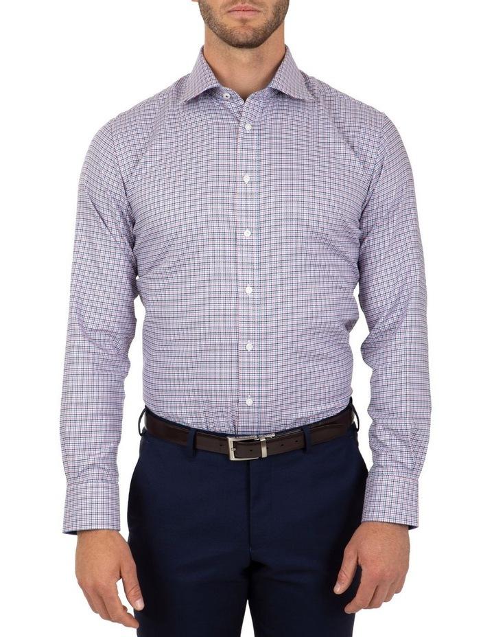 Modern Fit Pink Check Carlton Business Shirt FCL246 image 1