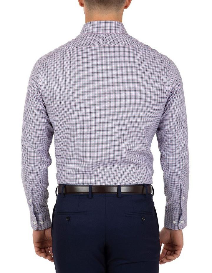 Modern Fit Pink Check Carlton Business Shirt FCL246 image 2
