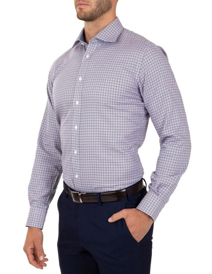 Modern Fit Pink Check Carlton Business Shirt FCL246 image 3
