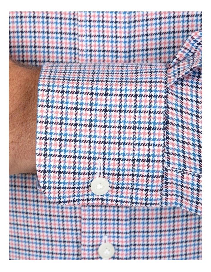 Modern Fit Pink Check Carlton Business Shirt FCL246 image 4