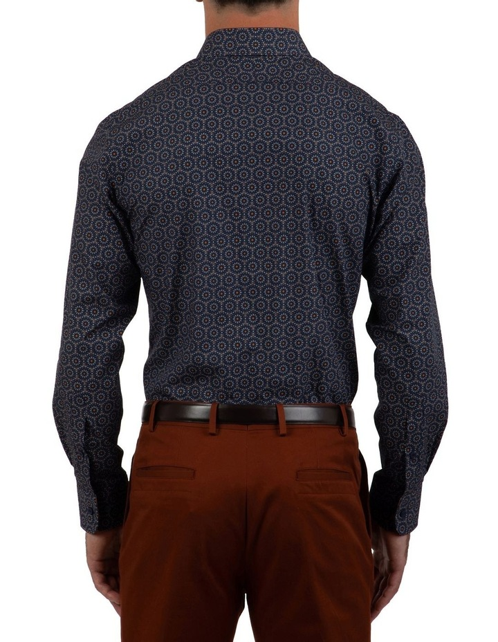 Modern Fit Navy Aspendale Business Shirt image 2