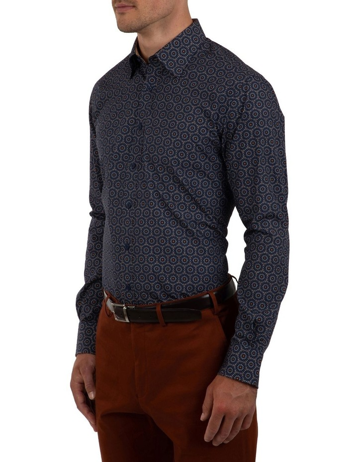Modern Fit Navy Aspendale Business Shirt image 3
