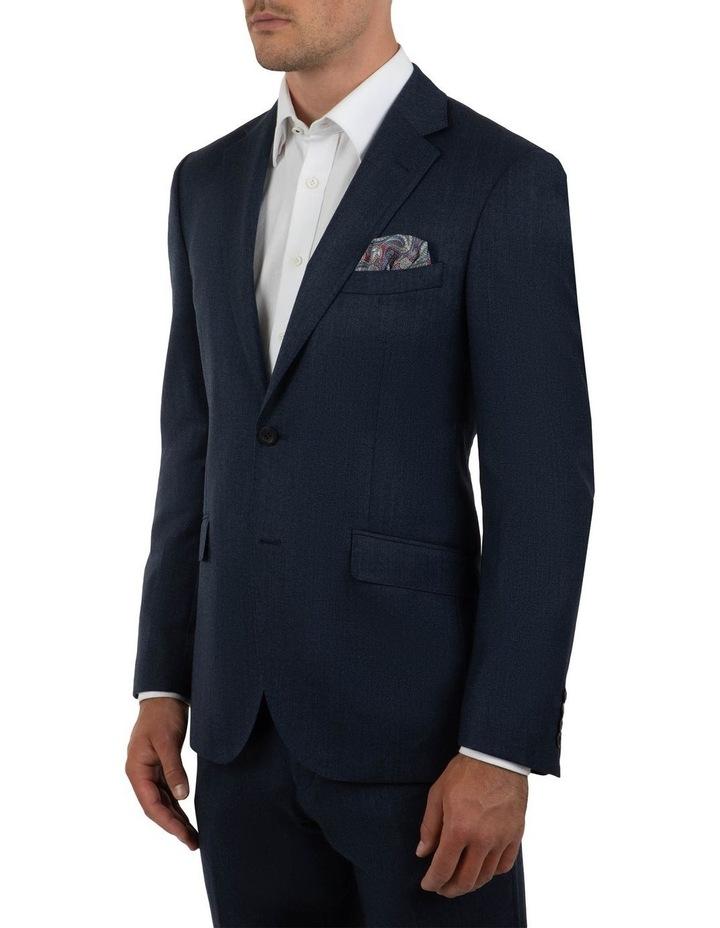 Modern Fit Hawthorn Navy Soft Flannel Jacket FAJ786 image 2