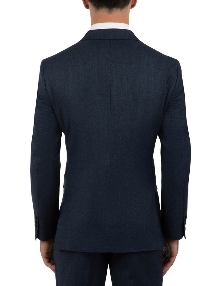 Modern Fit Hawthorn Navy Soft Flannel Jacket FAJ786 image 3