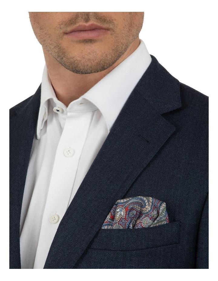 Modern Fit Hawthorn Navy Soft Flannel Jacket FAJ786 image 4