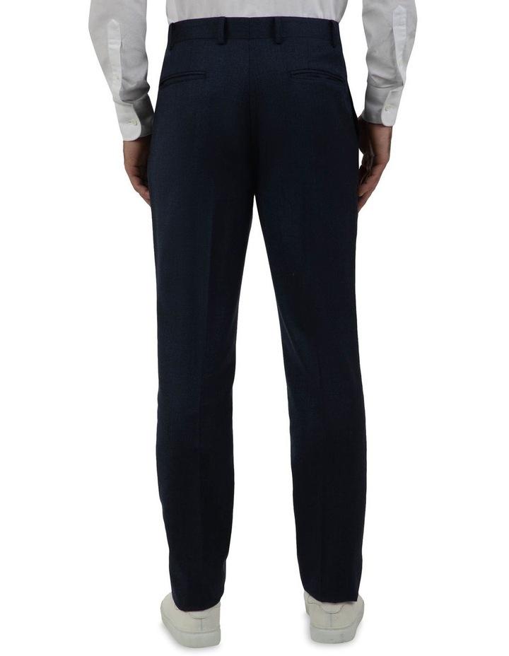 Modern Fit Keane Navy Flannel Trouser FAJ786 image 3