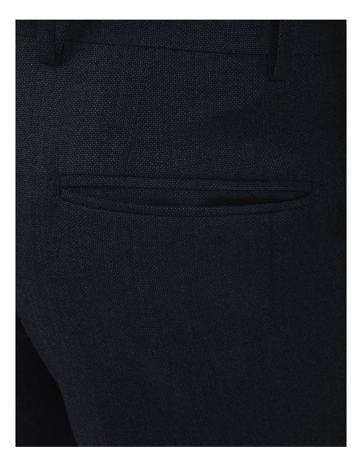 Modern Fit Keane Navy Flannel Trouser FAJ786 image 4