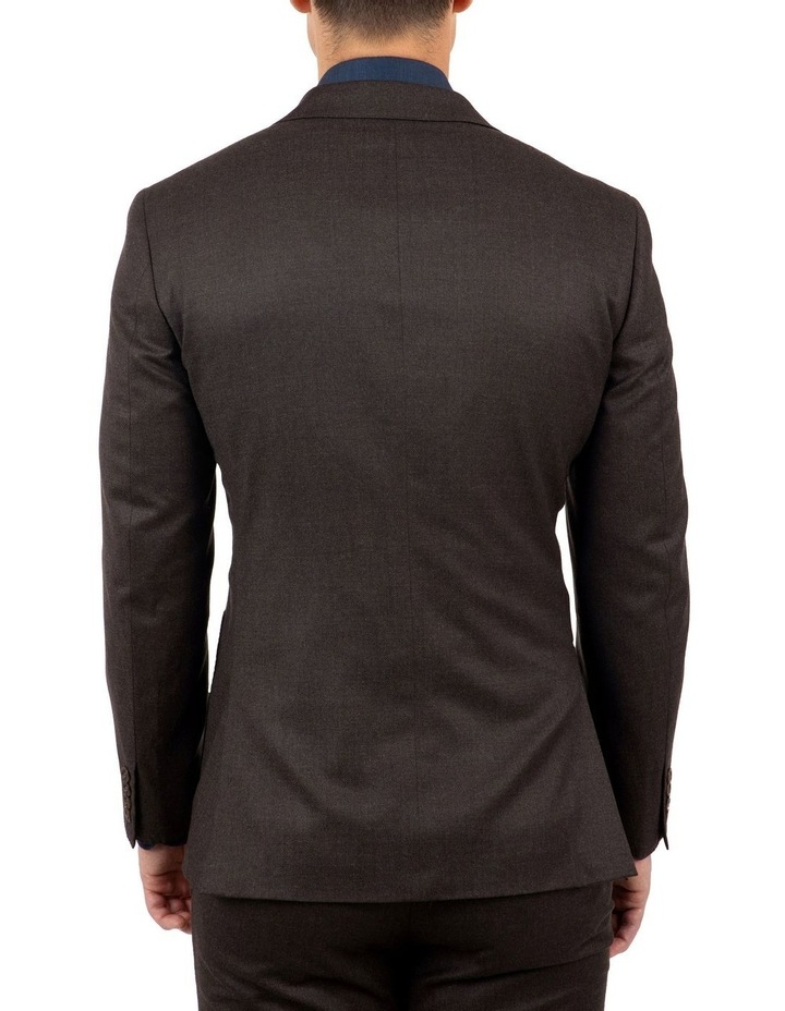 Modern Fit Beaumaris Chocolate Flannel Jacket FAJ783 image 3