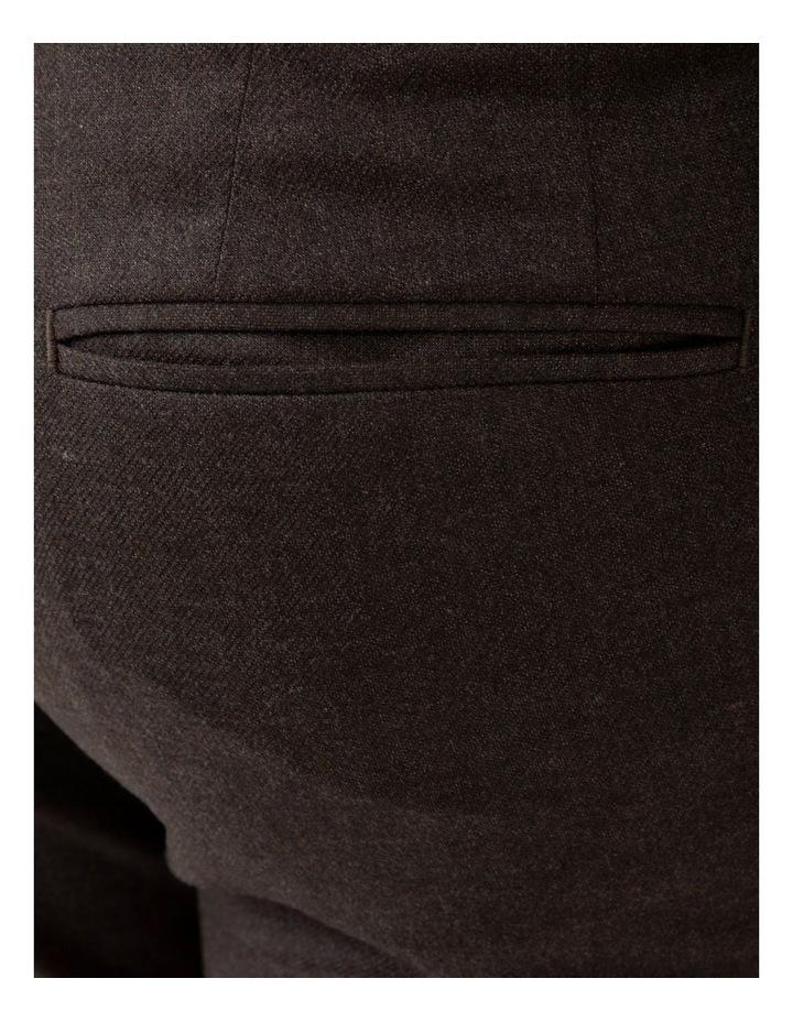 Modern Fit Keane Chocolate Flannel Trouser FAJ783 image 4