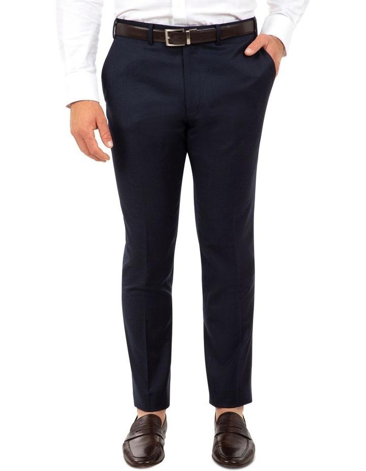 Modern Fit Keane Navy Flannel Trouser FAJ784 image 1
