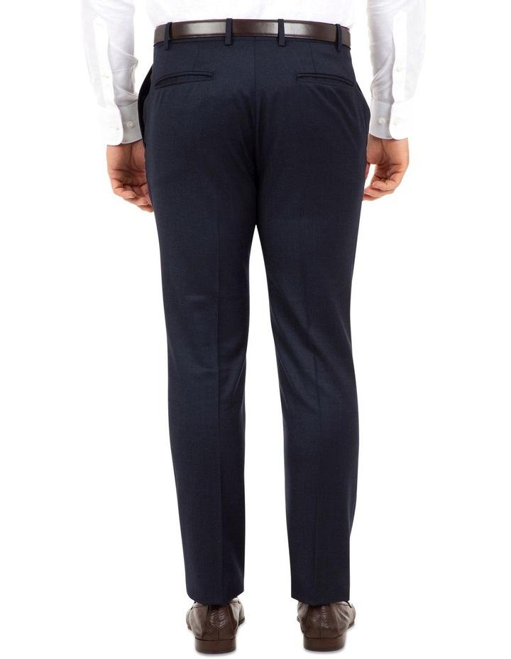 Modern Fit Keane Navy Flannel Trouser FAJ784 image 3