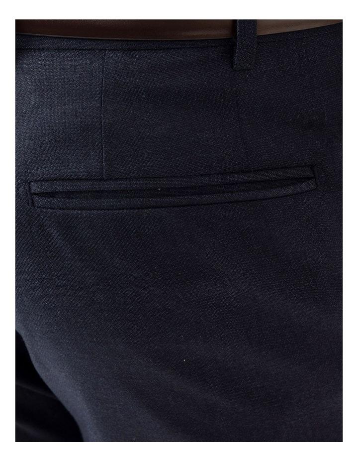 Modern Fit Keane Navy Flannel Trouser FAJ784 image 4