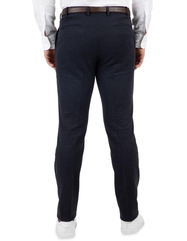Modern Fit Fabian Denim Blue Cotton Trouser image 3