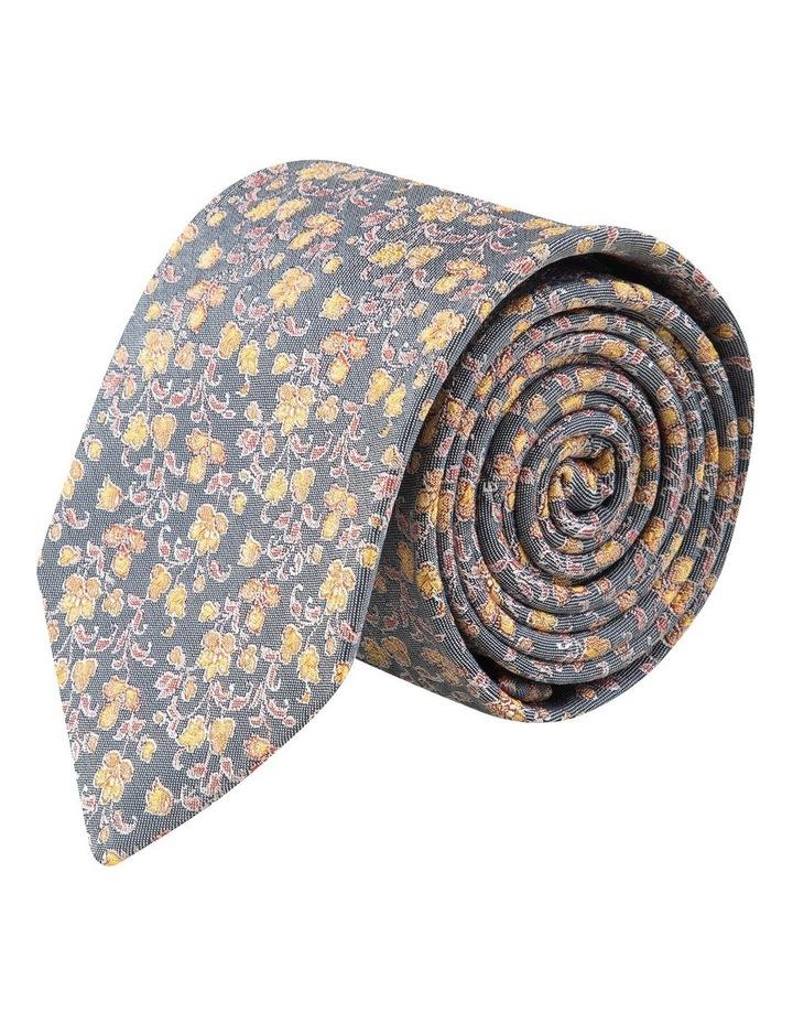 Orange Anemone 7.5cm Silk Tie image 1