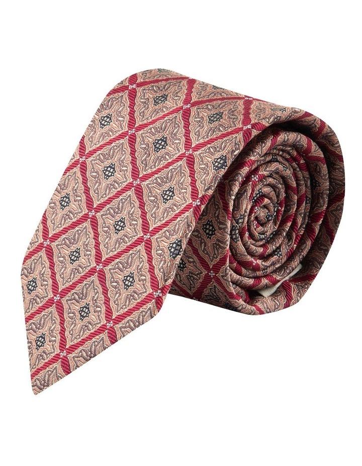 Red Square Foulard 7.5cm Silk Tie image 1