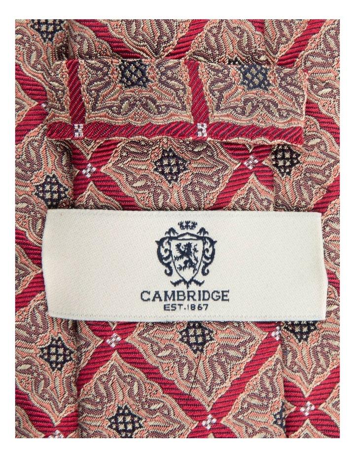 Red Square Foulard 7.5cm Silk Tie image 2