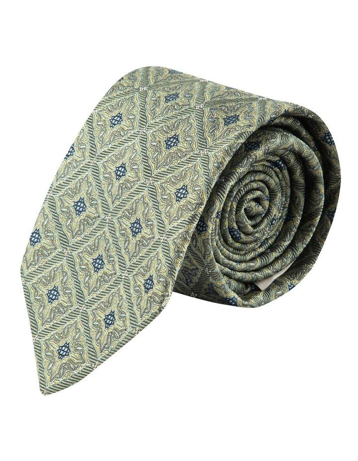 Sage Square Foulard 7.5cm Silk Tie image 1