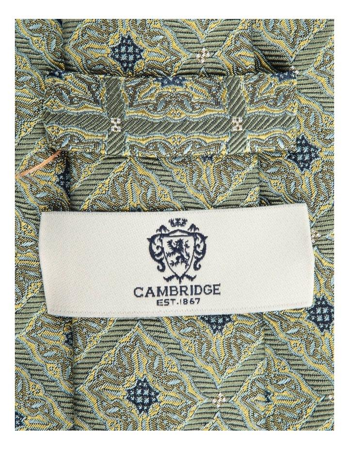 Sage Square Foulard 7.5cm Silk Tie image 2