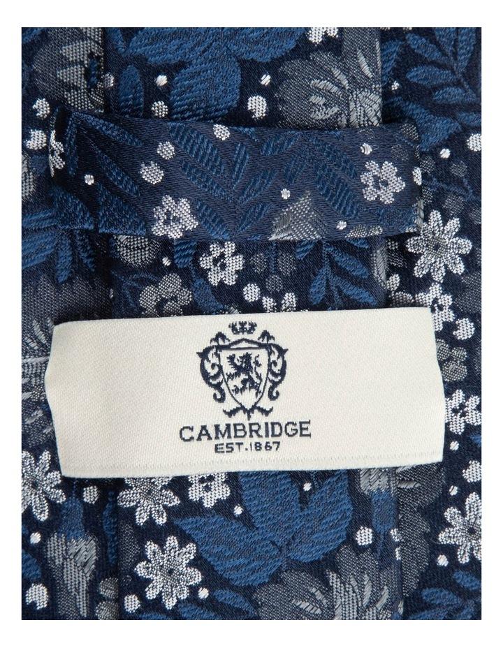 Blue Bouquet 7.5cm Silk Tie image 2