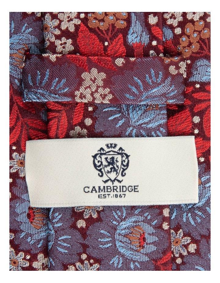 Red Bouquet 7.5cm Silk Tie image 2