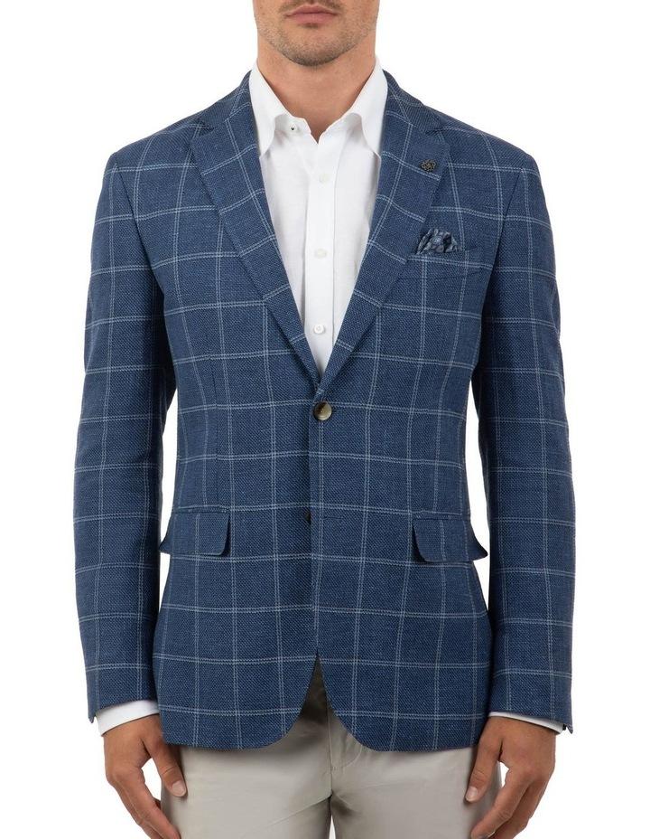 Modern Fit Hawthorn Blue Check Jacket FCM300 image 1