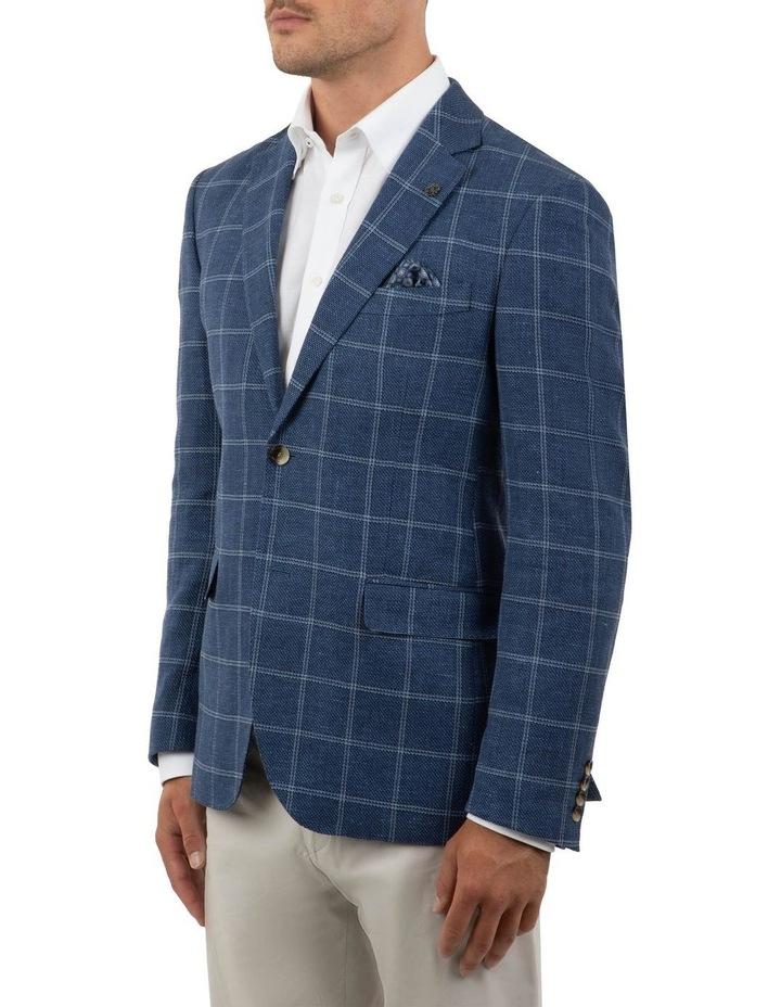 Modern Fit Hawthorn Blue Check Jacket FCM300 image 2